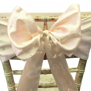 Satin Chair Bow - Ivory