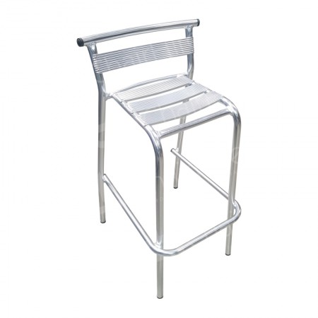 Main Image of Aluminium High Bar Stool