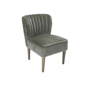 Steel Silver Laura Chair