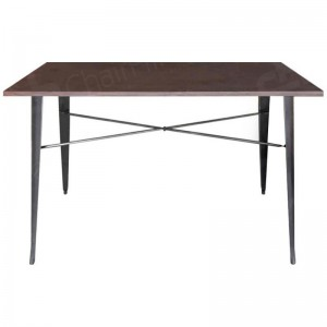 Tolix Style Double Poseur Table