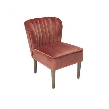 Main Image of Vintage Pink Laura Chair