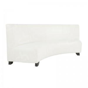 White Bianco Corner Sofa