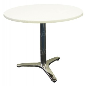 Circular Bistro Table in White - 700mm