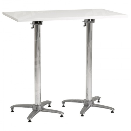 Main Image of Hire White Rectangular Poseur Tables
