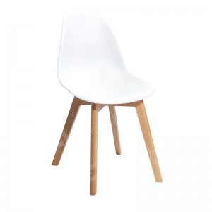 White Keeve Chair without Armrests