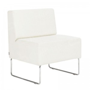 White Mayfair Chair Unit