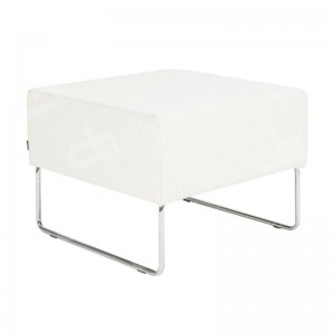 White Mayfair Pouffe