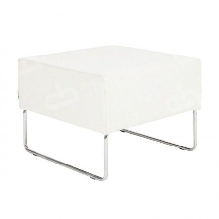 Main Image of Mayfair Pouffe White