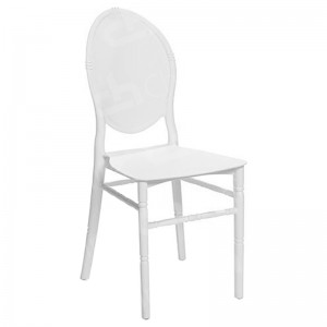 White Medaillion Chair