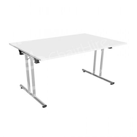 Main Image of 1200mm White Modular Rectangular Table