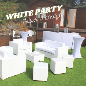 White Party Package - Silver