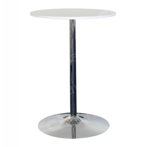 White Poseur Table