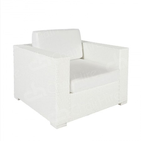 Main Image of Rattan Chair White