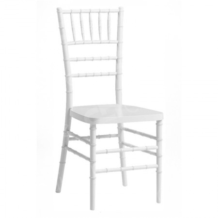Main Image of White Resin Chiavari Chair Rental (Tiffany Chairs)