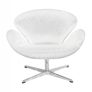 White Swan Style Chair