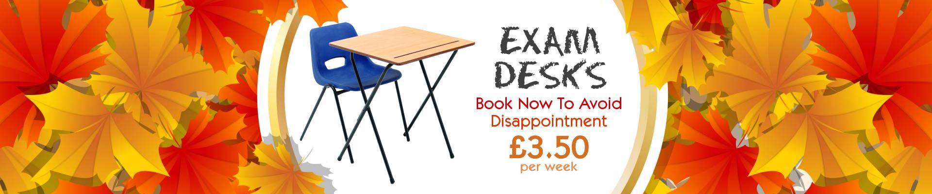 Exam Desk Rental London