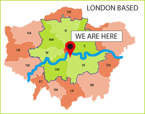 London Based - We are here...